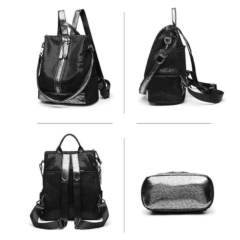 POMELOS рюкзак женский 2019 Новое поступление женский рюкзак для ноутбука 13 дюймов высококачественный тканевый кружевной рюкзак с пайетками для путешествий женский