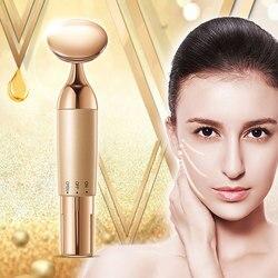 Ferramentas de levantamento de rosto essência importador rosto olho massagem beleza dispositivo multi-funcional massageador facial elétrico limpeza massageador