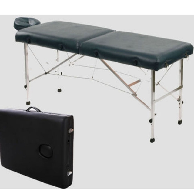 """84"""" Portable Foldable Aluminum Massage Table SPA Bed with Carry Case Beauty Salon Therapy Massage Bed Treatment Table - US Stock 2"""