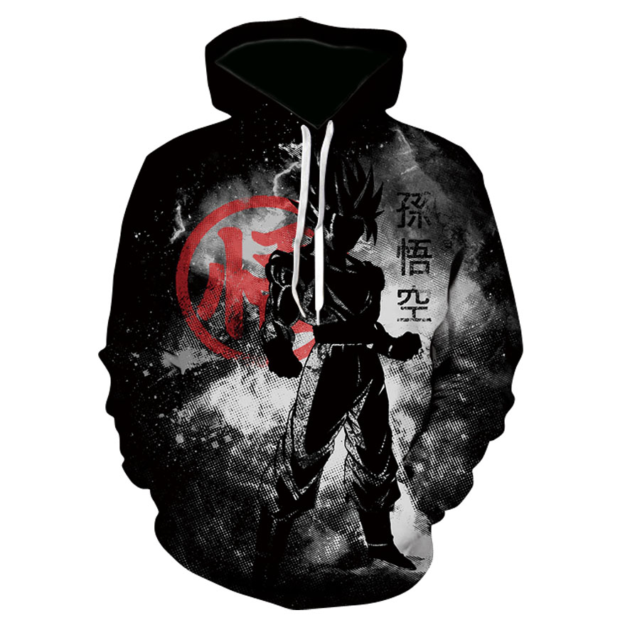 Anime <font><b>Dragon</b></font> <font><b>Ball</b></font> <font><b>Z</b></font> <font><b>Goku</b></font> Printed Hoodies Men Women 3D Hooded Sweatshirts <font><b>Jackets</b></font> Pullover Fashion Tracksuits Streetwear Out Coat image