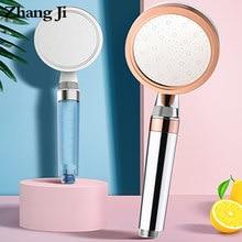 ZhangjI 2 warstwa prysznic duży panel PP filtr bawełniany oszczędzania wody pod wysokim ciśnieniem piękna kropla wody regulacja przepływu do pielęgnacji skóry dysza