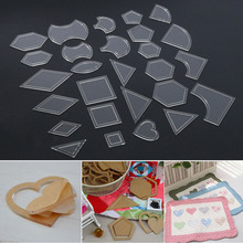 Ruler Quilting Diy-Tool-Accessories Patchwork Templates Stencils Sewing Handmade Acrylic