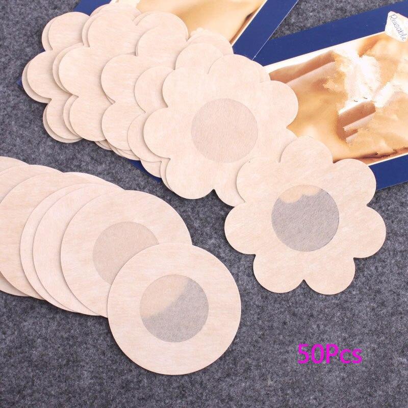 Breast-Lift-Tape Accessories Bra Nipple-Stickers Overlays Adhesivo Invisible Women's