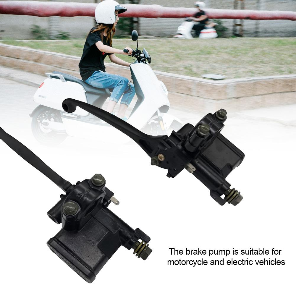 Purposeful Electric Motorcycle/bicycle/scooter Front Brake Pump Hydraulic Master Cylinder Lever Pump Brake Pumps Front And Rear Disc Brake