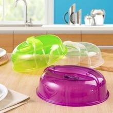 Microwave Oven Crisper Cover Kitchen Bowl Plates Dustproof Lid Dish Food Anti-Oil Fresh Preservation Tool