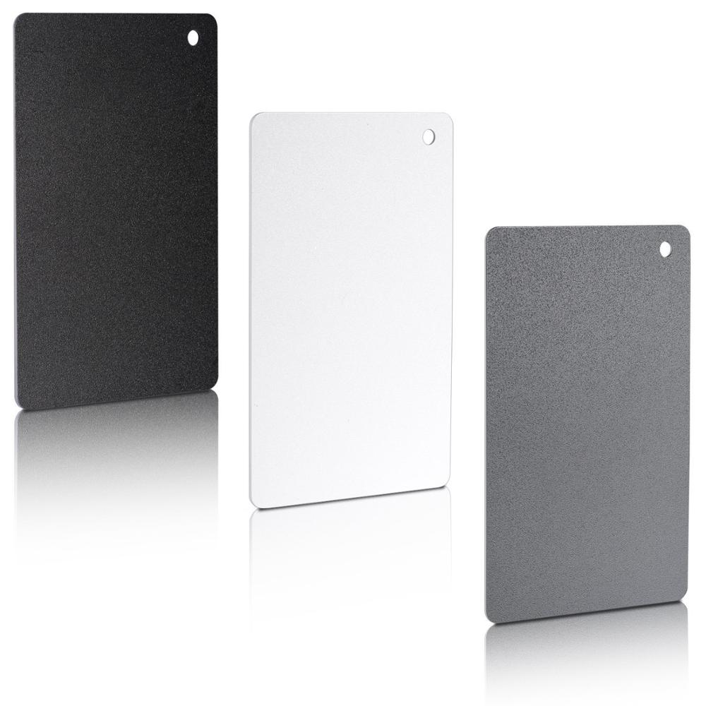 Видео аксессуары 3 в 1 карман размер Белый баланс карты с шеи ремень веревка для цифровой камеры Canon/Nikon/Сони/Минолта/Пентакс