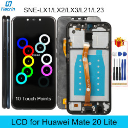 Original LCD for Mate 20 Lite Display LCD with Frame 10 Points Touch Screen Replacement for Huawei Mate 20 Lite SNE-LX1/LX2/LX3