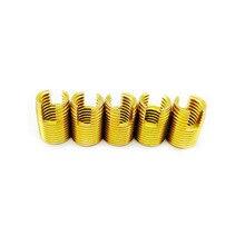 Self Tapping inserts M2 M2.5 M3 M4 M5 M6 M8 M10 M12 M14 Carbon Steel threaded insert thread repair kit Nut Repair helicoil