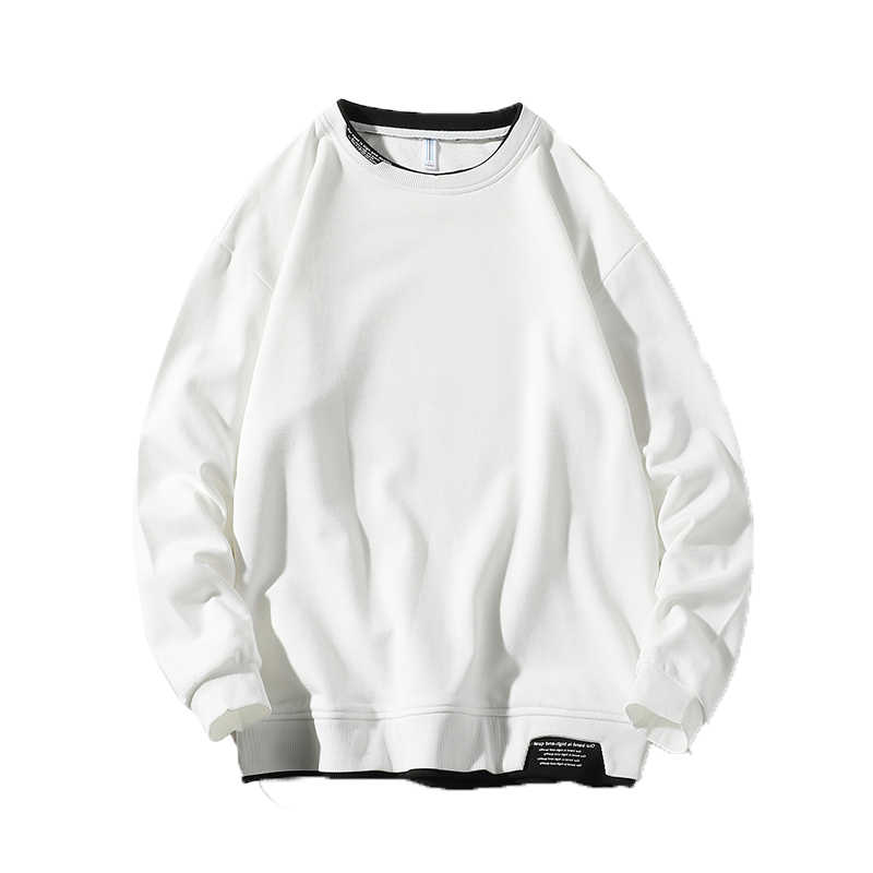 읽기 쉬운 2020 솔리드 Streetwear 캐주얼 Hoody 망 하라주쿠 o-넥 패션 스웨터 남성 다채로운 후드 남자 4XL 5XL