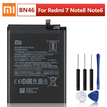 XIAOMI Original Replacement Phone Battery BN46 For Xiaomi Redmi 7 Redmi7 Note 6 Note6 redmi note 8 8T 4000mAh