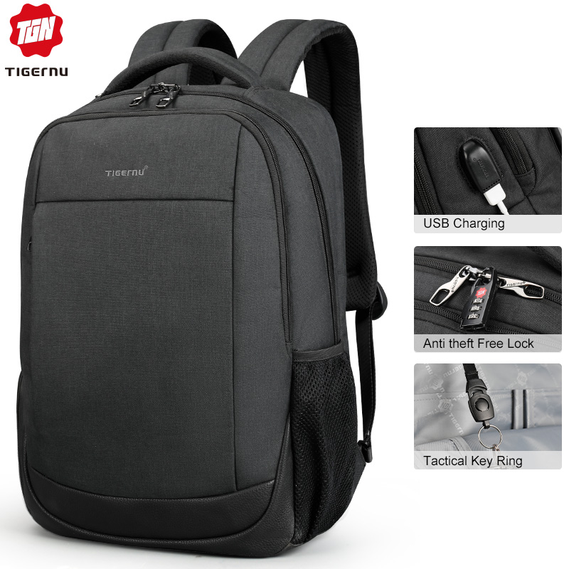 New Arrival Male Mochilas 15 6 Laptop Backpacks For Men Anti Theft School Bagpack Women Solid