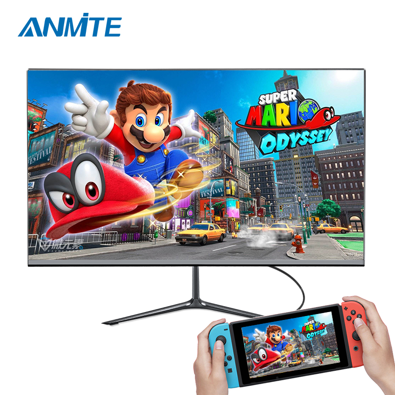 Anmite 24 144HZ FHD 1920 x 1080IPS Professional Monitor Gaming Monitor LED Display USB Type - C smart screen image