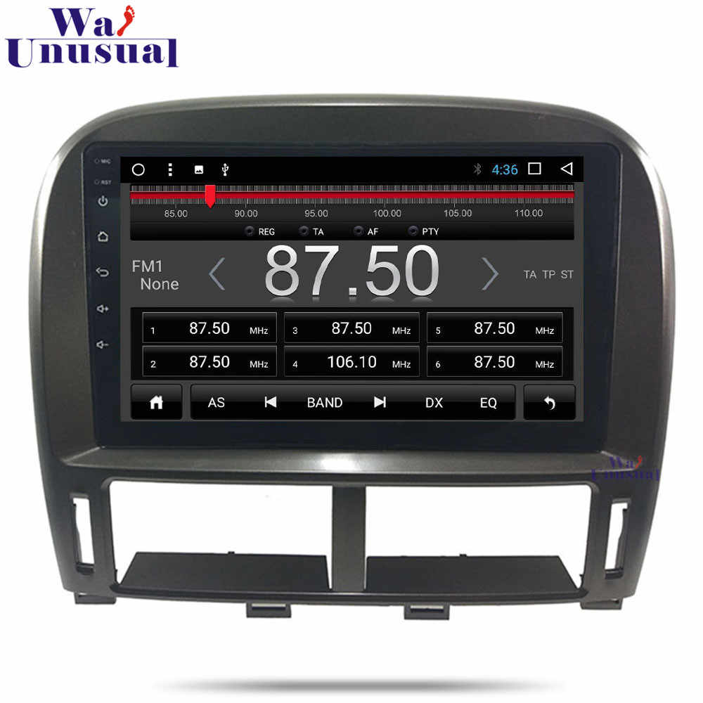 9 Inch Android 8.1 Auto Mobil GPS Navigasi untuk Lexus LS LS430 XF30 2003 2004 2005 2006 Stereo Radio Mobil peta Multimedia Player