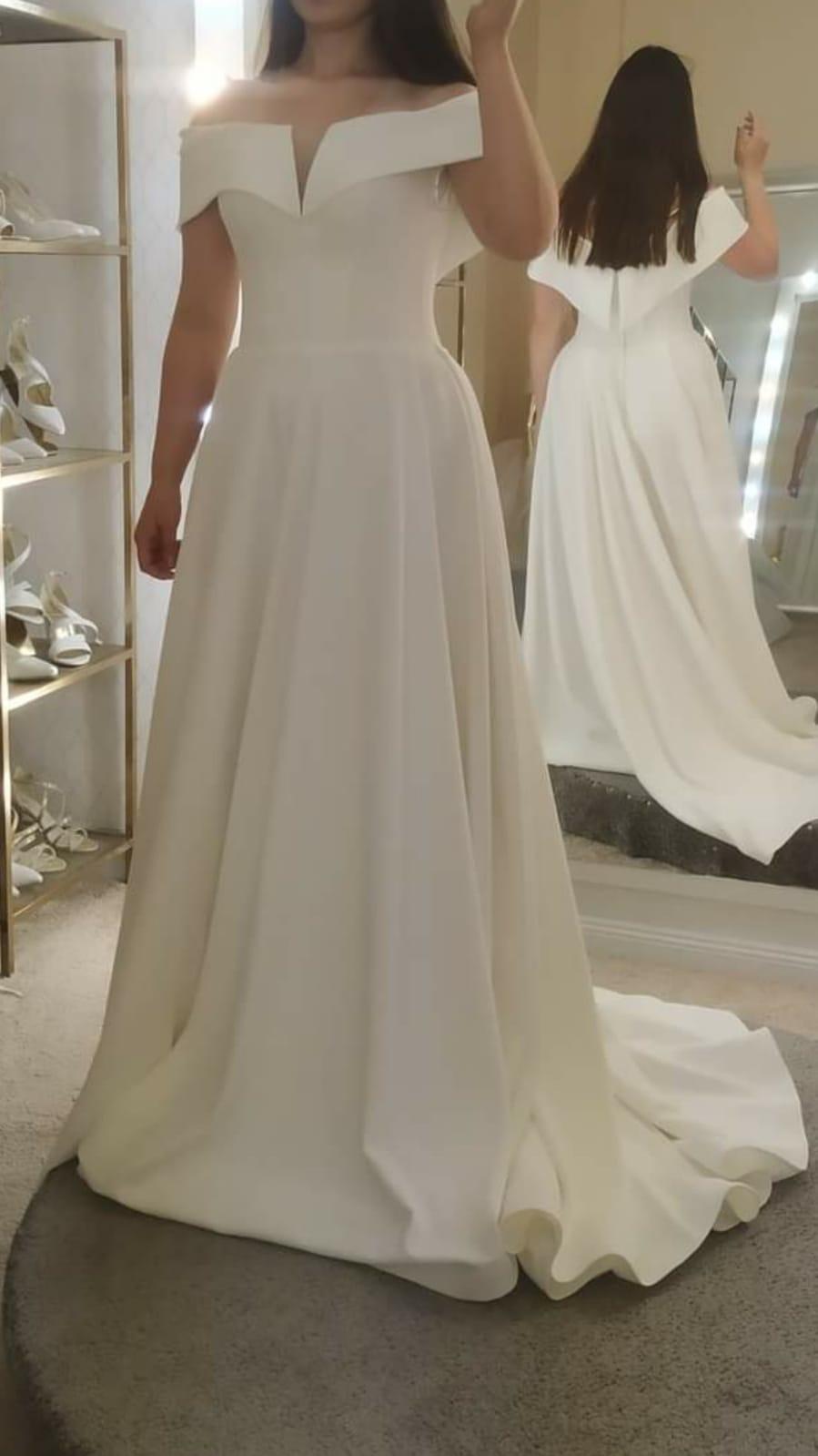 Gorgeous Split Wedding Dresses Long 2021 Elegant A-line Off Shoulder African Bridal Gowns Long Formal Boho Vestido de noiva