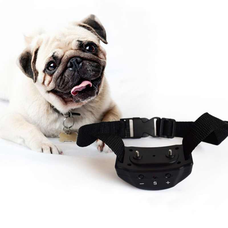 Pet Anti Barking Device Non-barking Dog Training Vibration Remote Collar Electric Shock Electric Anti-barking Device