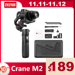 Image 1 - ZHIYUN Official Crane M2 3 Axis Gimbals Handheld Stabilizer for Mirrorless Compact Action Cameras Phone Smartphones iPhone 11