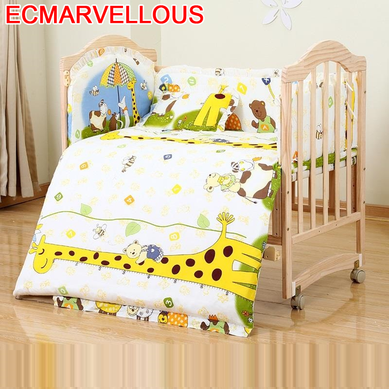 Letti Individual Baby Furniture Letto Per Girl Cameretta Bambini Cama Infantil Wooden Kinderbett Lit Chambre Enfant Kid Bed