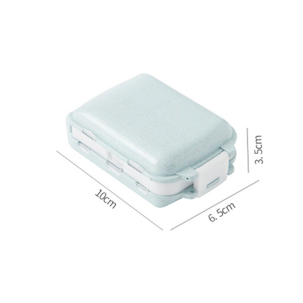 7 Days Frist Aid Tablet Pill Box Holder Weekly Medicine Storage Organizer Container Case Three Layers Folding Pill Case Boxes 4