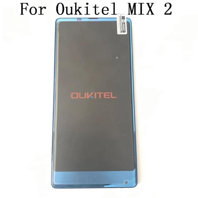Utilizzato Oukitel DELLA MISCELA 2 LCD Screen Display + Touch Screen + Telaio di Riparazione di Accessori di Ricambio Per Oukitel DELLA MISCELA 2 Cellulare telefono