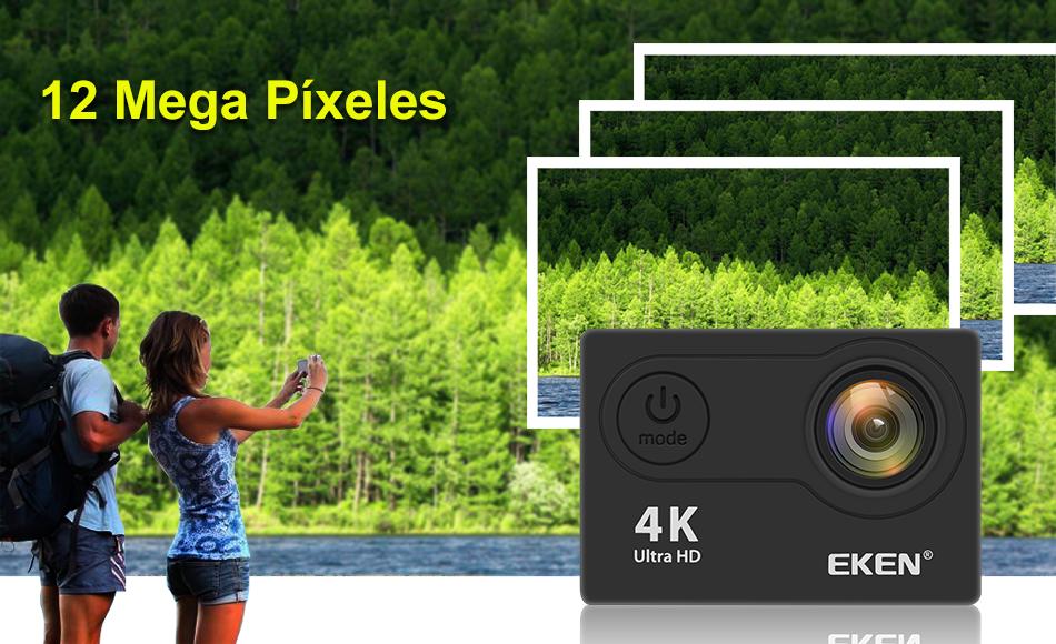 """EKEN H9R/H9 Ultra HD 4 K/30fps WiFi 2,0 """"170D impermeable bajo el agua 4"""