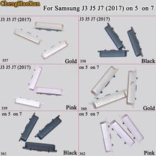 Housing-Frame Volume-Power-Button Samsung 5-On 7-Phone Chenghaoran for Galaxy J3 J5 J7
