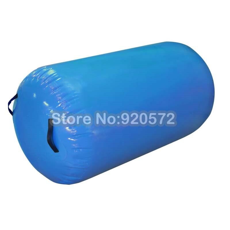 Free Shipping 100x60cm Cheap Customized Colorful Air Barrels Air Rolls For Gymnastics