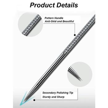 Acne removal blackhead acne needle set beauty salon special scraping tweezers to remove acne deep cleansing tool face