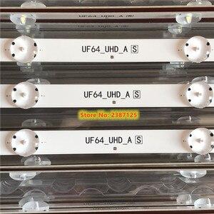 (Новый комплект) 3 шт., 8 светодиодный 850 мм лента для подсветки для LG 43-uh6030 43UF640, светодиодный экран UF64_UHD_A 43LH60FHD, EAV63192501