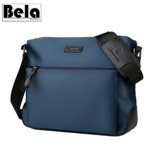 BelaBolso Large Capacity Hand Bag Men Bag Oxford Shoulder Bag Classic Crossbody Bag For Men Business Bag Male Casual Bags HMB672