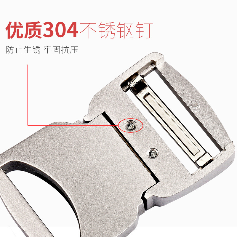 Inner 38 mm aluminium alloy new features tactical tactical belt buckle outdoor leisure belt buckle buckle