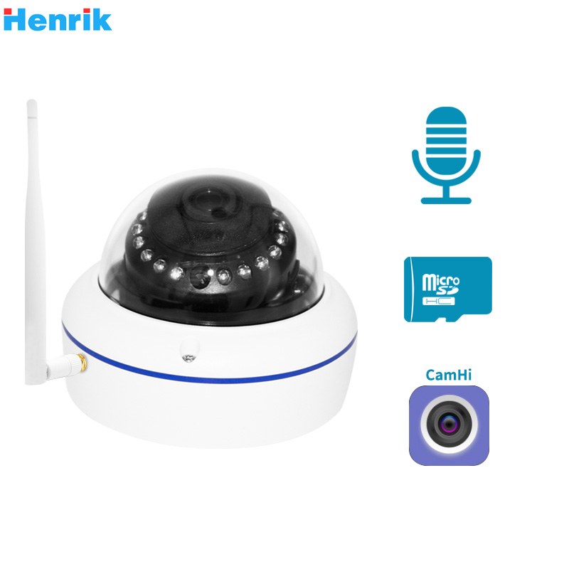 HD1080P WIFI IP Camera Outdoor Wireless Surveillance Home Security Camera Onvif CCTV Wi-Fi Camera TF Card Slot APP CamHi