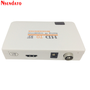 Image 4 - Analog TVเครื่องส่งสัญญาณHD To RF HDวิทยุความถี่สัญญาณHD Modulatorกล่องConverterพร้อมRemomeควบคุมซูมสำหรับHDTV PC