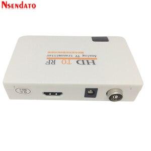 Image 4 - Telewizja analogowa nadajnik HD na RF HD na sygnał częstotliwości radiowej HD Modulator Box konwerter z pilotem zoom dla HDTV PC