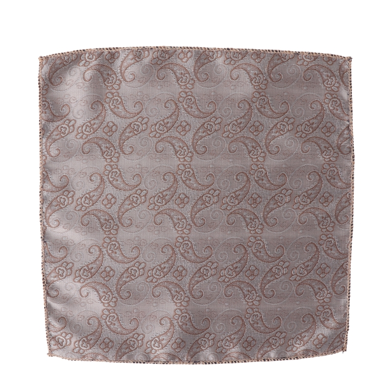 Fashion Square Handkerchiefs Floral Pocket Paisley Hanky For Men Bridal Parties 85WB