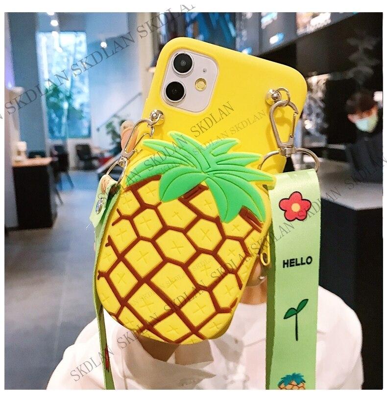 3D Cute School Bag Zipper Wallet Phone Case For Samsung S21 Note 20 Ultra S20 FE M51 M31S A12 S10 Lite A71 A51 4G Soft TPU Cover