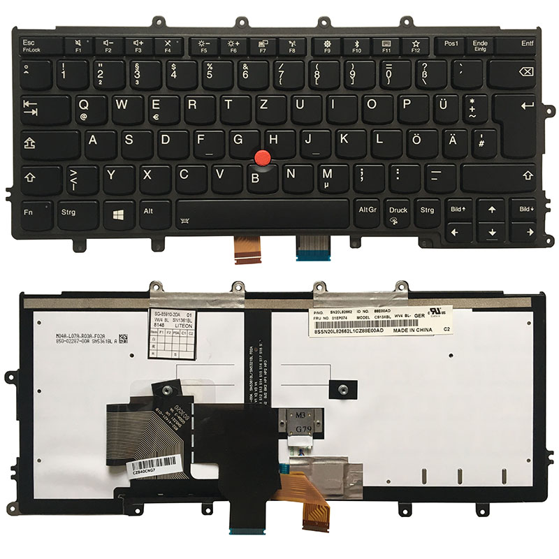 New Genuine Keyboard for Lenovo Thinkpad X270 A275 US Keyboard 01EP024