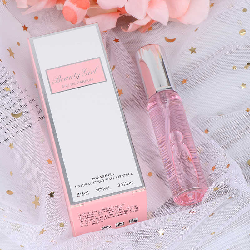 15ML Unisex Long Lasting Pheromone Perfume Men And Women Temptation Heterosexual Pink 2019 Dropship