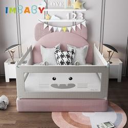 Детский манеж для кроватей IMBABY, защитные ограждения для детей, безопасные барьеры для детской кроватки