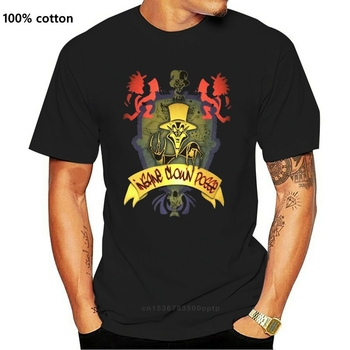 Insane Clown Posse Yellow Ringmaster Image Black T Shirt New Icp Streetwear Casual Tee Shirt image