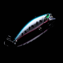 2019 Hot Sell 6.5cm-2.68 Minnow Wobblers Hard Fishing Tackle 1pcs bait Bait Bass Lures 5 Colors 8 # Hooks New