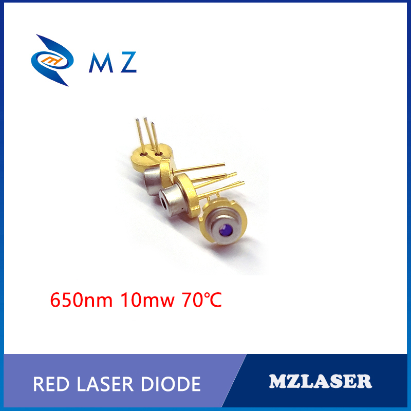 TO-18 Packaging Industrial 650nm 10mw Laser Diode