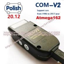 2021 popolar wesheu vcds vag com hex testadores 20.12 v2 interface para vw para audi skoda assento obd2 scanner atmega162 + 16v8 ft232rq