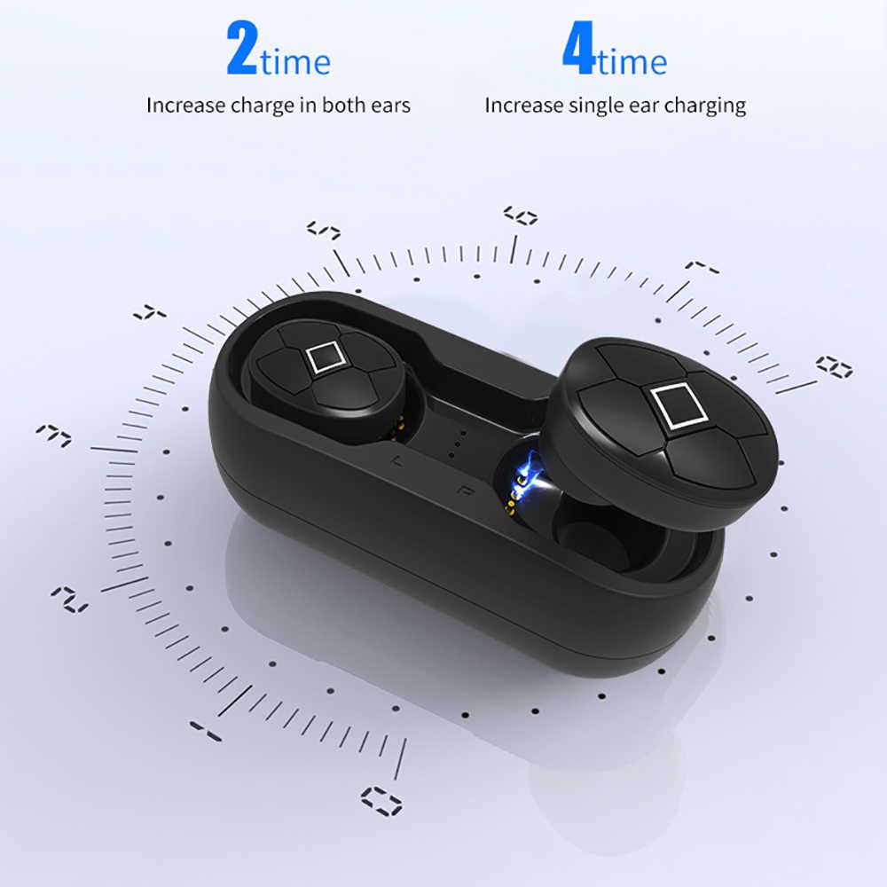 Auricolari Bluetooth TWS 5.0 Trasduttore Auricolare Senza Fili Con La Carica Box Stereo di Sport Gaming Auricolari Auricolare Con Il Mic per Il IPhone Xiaomi
