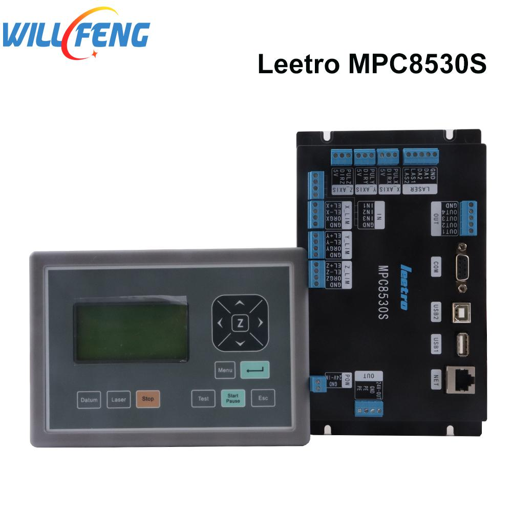 Will Feng Leetro MPC8530S Co2 Laser Controller For  Co2 Laser Cutter Engraving Machine CNC Kit Laser Mainboard System Parts