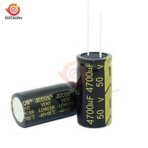 50V 4700uF Aluminium-elektrolytkondensator Niedrigen ESR für Audio Verstärker Inverter Power 4700uf 50V kondensatoren 18X 35mm