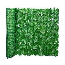Clôture de confidentialité murale en rouleau, feuille artificielle, écran de protection pour l'extérieur, jardin, arrière-cour, balcon