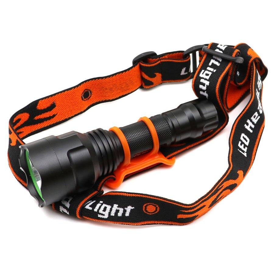 Head Strap Headband For 18650 Flashlight Headlight Lamp Torch Headlamp Pip HKMWC