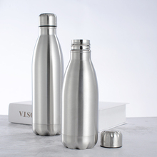 Бутылка для воды Спортивные Нержавеющая сталь бутылка для воды с одной стенкой горячей и холодной воды бутылки колы изолированный термос для тренажерного зала на открытом воздухе 500/1000 мл