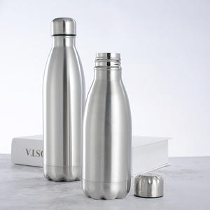 Cola Bottle Vacuum-Flask Stainless-Steel Cold-Water Insulated School 1000ml Sports Hot