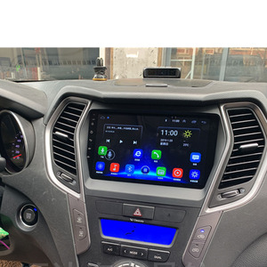 Image 2 - Android 10.1 için HYUNDAI IX45 santa fe 2013   2017 multimedya Stereo araç DVD oynatıcı oynatıcı navigasyon GPS radyo